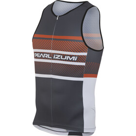 PEARL iZUMi ELITE In-R-Cool LTD Tri Top Men, stripes red orange